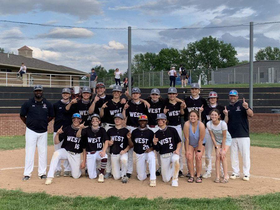 St. Charles West Baseball Wins GAC North Title
